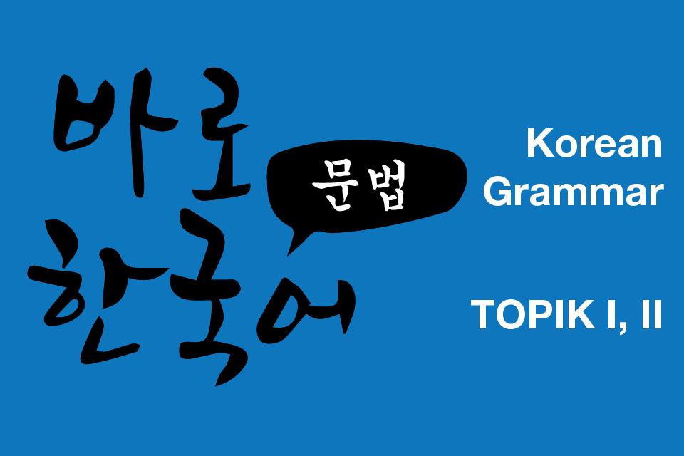Tổng hợp 300+ ngữ pháp tiếng Hàn thi TOPIK I, II